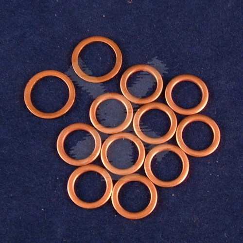 SPILL RAIL INJECTOR COPPER WASHER SET BMC 1.5 AND 1.8