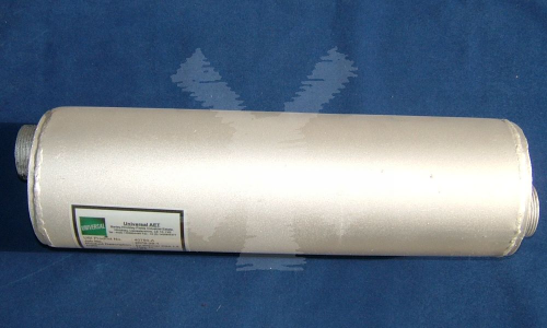 "EXHAUST SILENCER 17"" X 1 1/12"""
