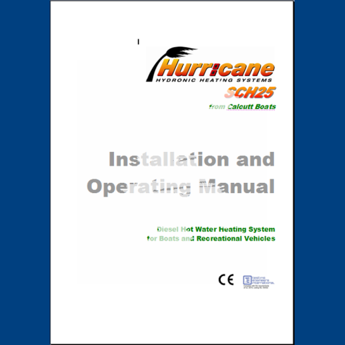Hurricane SCH25 Manual