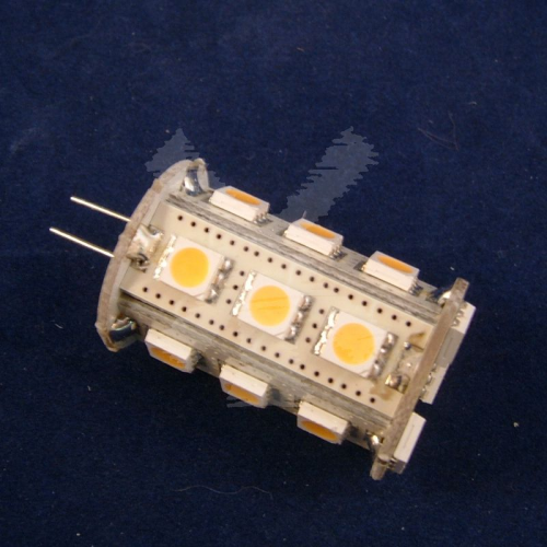 LED REPLACEMENT G4 18 SMD 360DEG WARM WHITE