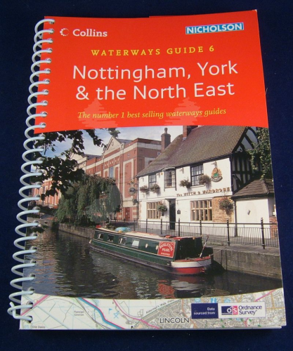 NICHOLSON GUIDE NO.6 - NOTTINGHAM, YORK & NORTH EAST