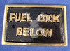 BRASS LABEL FUEL COCK BELOW