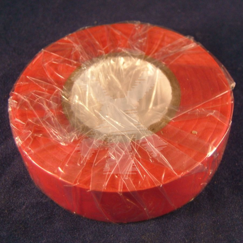 RED INSULATION TAPE 19MMX20M