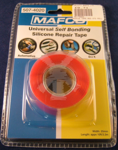 UNIVERSAL SELF BONDING SILICONE REPAIR TAPE RED