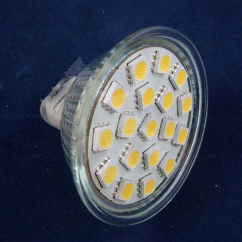 LED REPLACEMENT MR16 12 SMD WARM WHITE