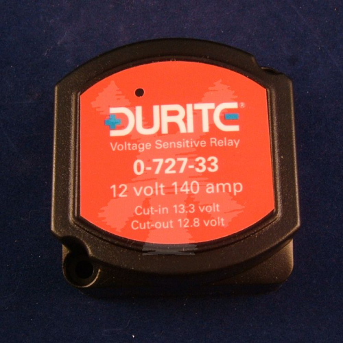 DURITE 140AMP 12V VOLTAGE SENSING RELAY