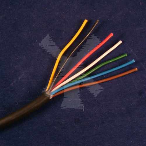 CABLE 7 CORE 0.75MM2 PER METRE