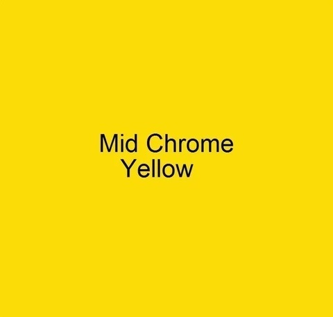 CRAFTMASTER DECORATIVE FLAT COLOUR MID CHROME YELLOW 250ML