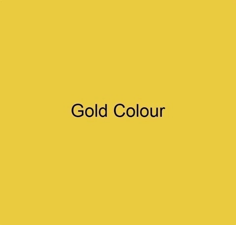 CRAFTMASTER DECORATIVE FLAT COLOUR GOLD COLOUR 250ML