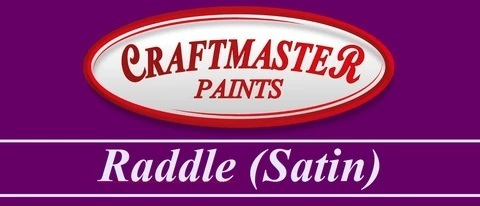CRAFTMASTER RADDLE RED 1 LITRE