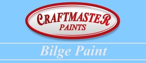 CRAFTMASTER BILGE PAINT LIGHT GREY 1 LITRE