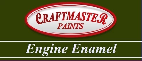 CRAFTMASTER ENGINE ENAMEL BLACK 500ML